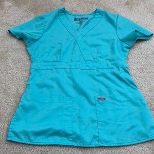 Greys Anatomy Scrub top-turqoiuse
